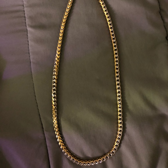 Other - Gold and silver chain